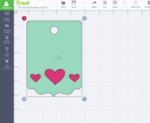 How To Slice In Cricut Design Space Cut Cut Craft