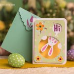 Free easter card project designed by Dreaming Tree