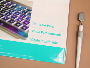 A package of printable vinyl
