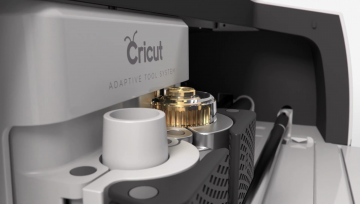 The Cricut Maker Adaptive Tool System offes 10x the cutting power of the Air 2.