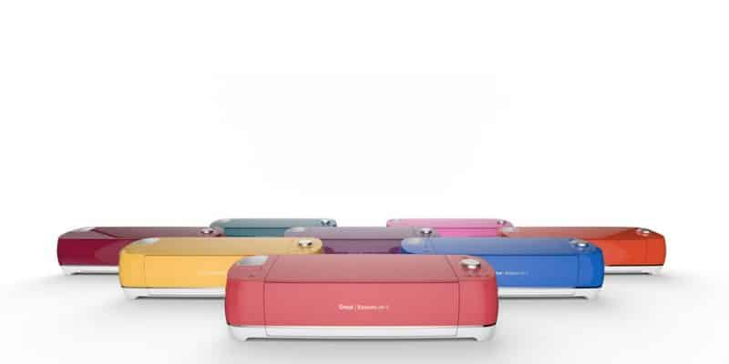 The Cricut Explore Air 2 is perfect for beginners and comes in a range of vibrant colors.