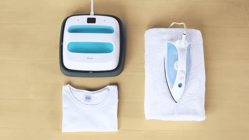 To transfer Cricut iron-on vinyl, you will need a t-shirt, EasyPress or iron, and a towel or EasyPress mat.