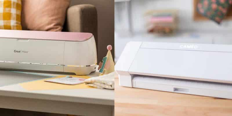 A comparison of Cricut vs Silhouette