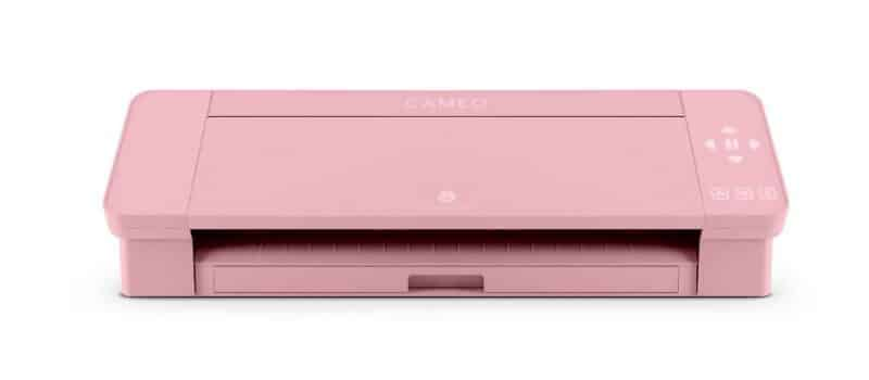 A pink Silhouette Cameo machine